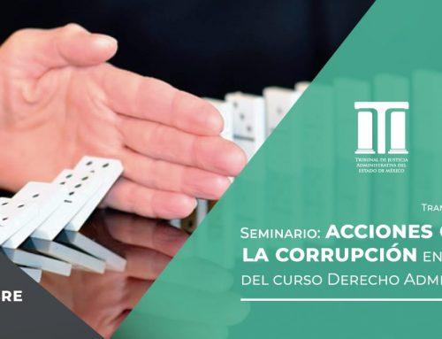 Seminario: «Acciones contra la Corrupción»