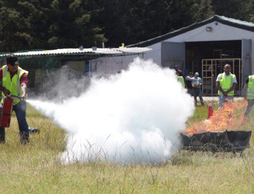 Curso de Prevención y Control de Incendios.