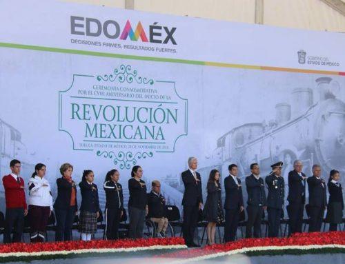 Ceremonia Conmemorativa por el CVIII del Inicio de la Revolución Mexicana