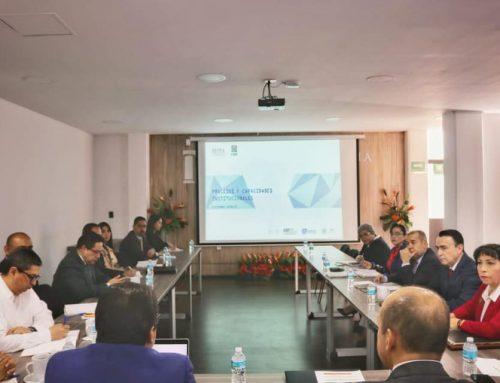 Reunión previa a los trabajos del Programa Piloto en materia Anticorrupción