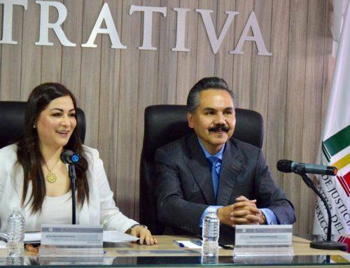 Firma de Convenio de Colaboración entre el TRIJAEM y la Secretaría de la Contraloría para habilitar el Sistema Integral de Responsabilidades